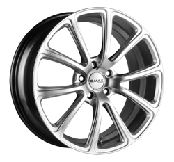 Gmax Cosmo Wheels Widetread Tyres