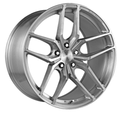Gmax Solas brushed silver Wheels Widetread Tyres