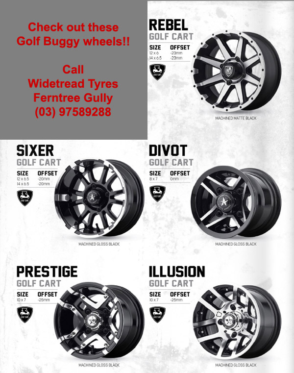 golf buggy wheels ferntree gully