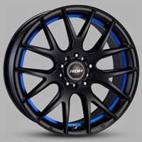 roh-evolutionr blacl-blue-wheels-widetread-tyres