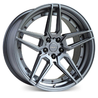 roh-ro1-gunmetal-wheels-widetread-tyres
